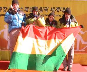 Atletas bolivianos lograron oros en Corea