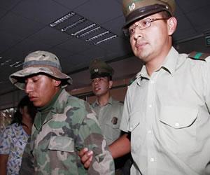 Justicia de Chile aplaza audiencia de soldados bolivianos hasta el 25 de febrero