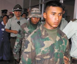 Declaran como defensores del mar a los tres soldados bolivianos detenidos en Chile