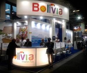 Promocionan destinos turísticos bolivianos en feria de Berlín