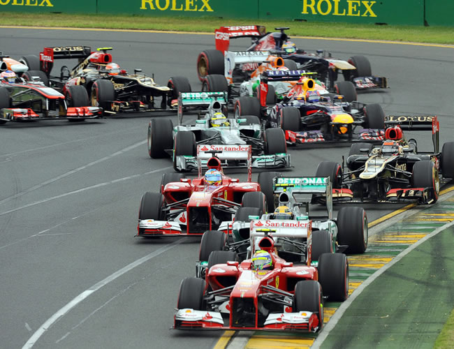 El piloto brasileño de fórmula 1 Felipe Massa de la escudería Ferrari. EFE