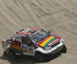 Bolivia gestionará que el Dakar 2014 se pueda ver por TV pública