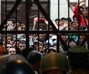 Diez reos se fugan de la cárcel de Morros Blancos en Tarija