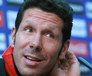 Simeone, a una victoria de las 50 como técnico del Atlético