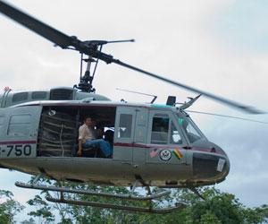 EE.UU. donará a Bolivia ocho helicópteros y dos aviones