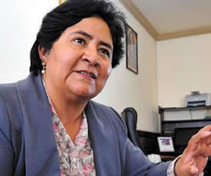 Ministra Ayllón achaca los problemas de la Justicia en Bolivia a 'herencia colonial'