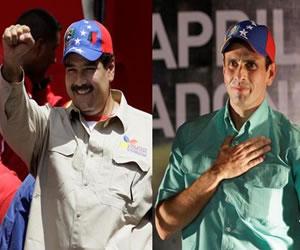 Maduro y Capriles prometieron respetar los resultados electorales