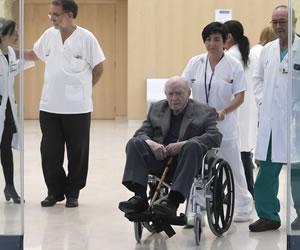 Los médicos opinan que al corazón de Di Stéfano le queda 'para mucho tiempo'