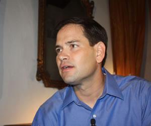 Senador de EE.UU. Marco Rubio espera un 'nuevo futuro' para Venezuela