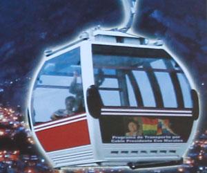 Se cambiará la tercera estación para el teleférico en La Paz