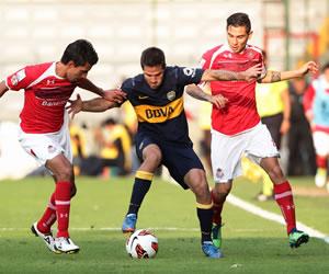 Toluca vence a Boca y lo deja en el segundo lugar del grupo