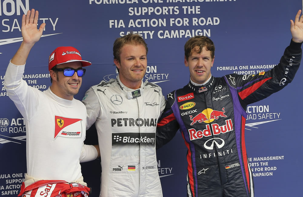 Nico Rosberg logra la pole para el Gran Premio de Bahréin