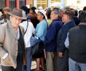 Gobierno ofrece más de 4,79% de incremento a las rentas de jubilados