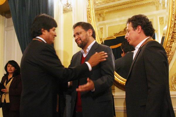 Alfredo Rada, nuevo viceministro de Coordinación con los Movimientos Sociales