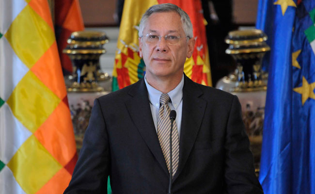 Eduardo Rodríguez Veltzé, representante de Bolivia ante la corte de La Haya. ABI/Archivo