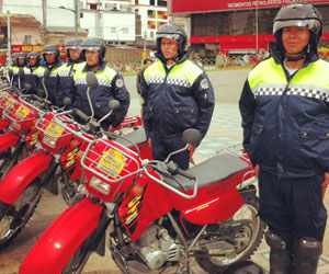 Choferes en La Paz protestan contra Ley de Transporte Municipal