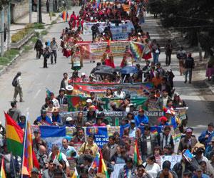 COB anuncia huelga general indefinida desde el lunes 6