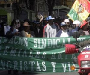 Gremiales ratifican marcha para el lunes