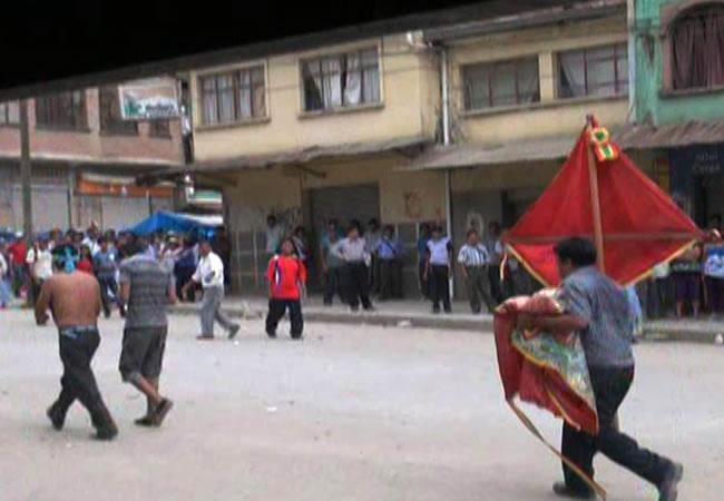 Conflicto en Caranavi dejó 38 heridos