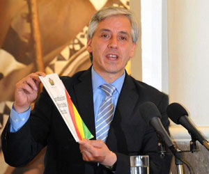 Bolivia constituirá un poderío económico en la región, García Linera