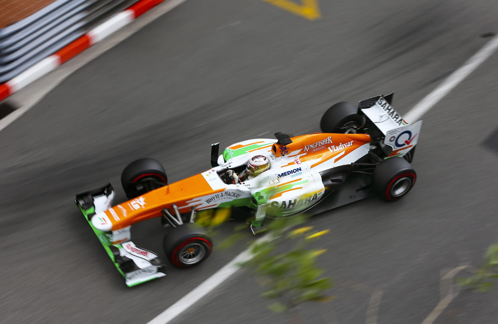 El piloto escocés Paul di Resta durante la clasificación del Gran Premio de Mónaco. EFE
