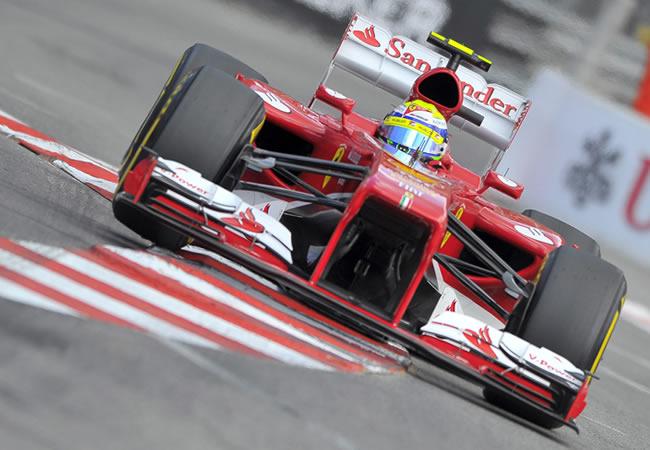 El piloto brasileño de Ferrari, Felipe Massa. EFE