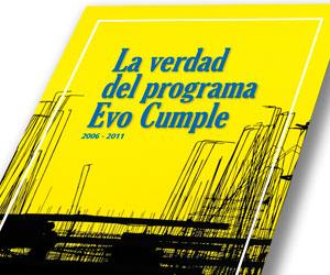Denuncias de Doria Medina sobre el programa 'Evo cumple'