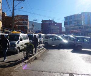 Empresarios aseguran que La Paz perdió $us 5 millones por paro de transporte