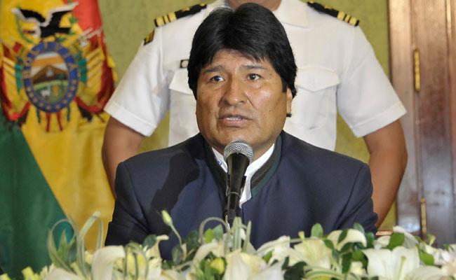 Evo Morales Ayma, presidente del Estado plurinacional de Bolivia. Foto: ABI