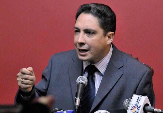 Héctor Arce, diputado por el Movimiento al Socialismo (MAS). Foto: ABI