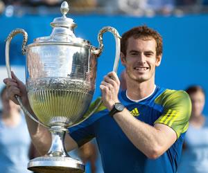 Andy Murray vence a Cilic y gana el torneo de Queen's por tercera vez