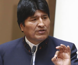 Bolivia deplora apoyo militar de Estados Unidos a Siria