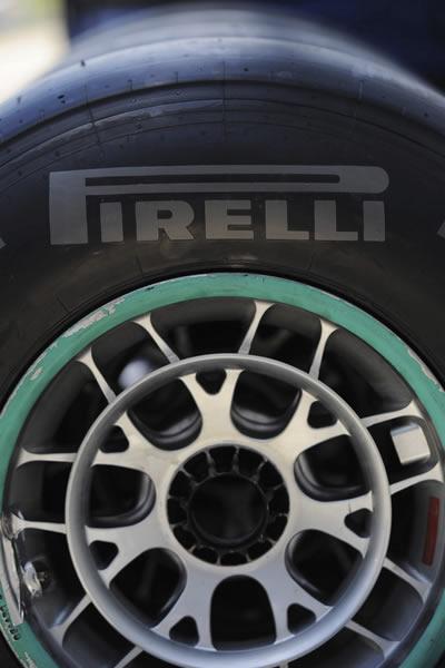 Pirelli es el único proveedor de neumáticos de la Fórmula Uno. EFE