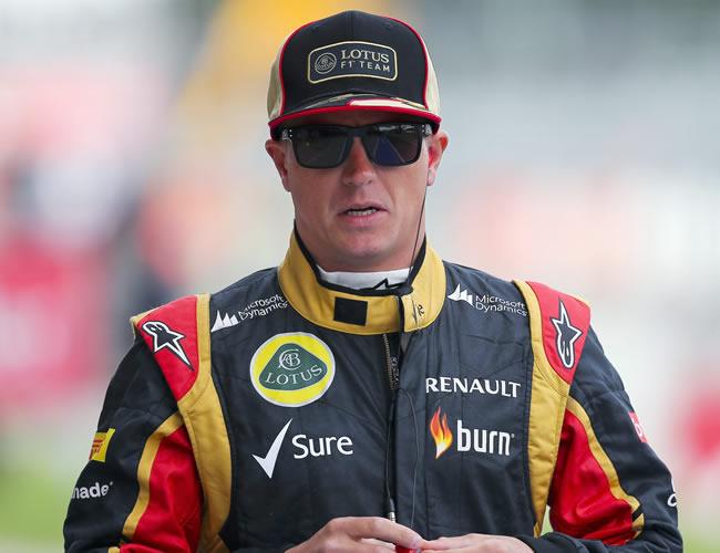 El piloto finlandés de Lotus, Kimi Raikkonen. EFE