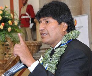 Presidente Morales agradece respaldo de la OEA