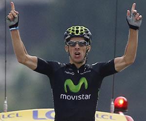 El ciclista portugués Rui Costa. EFE