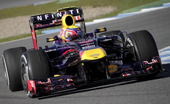 El piloto australiano Mark Webber del equipo Red Bull. EFE