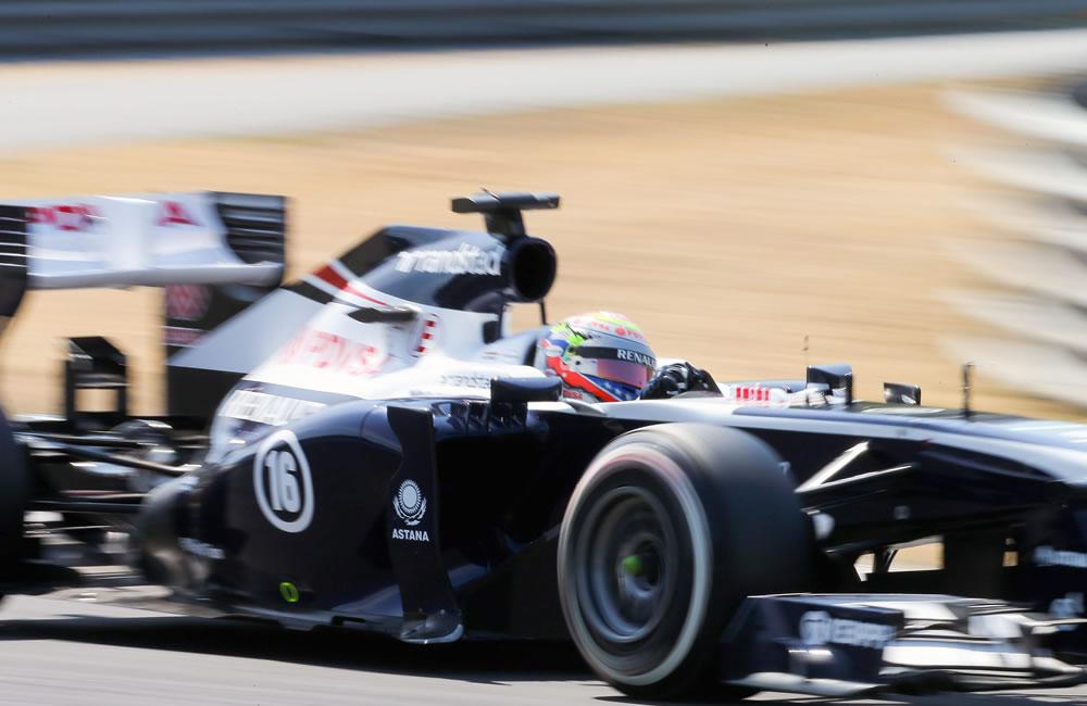 El piloto alemán Nico Hulkenberg durante el Gran Premio de Hungría. Foto: EFE