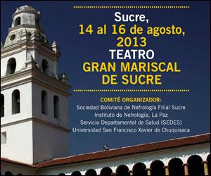 Sucre será sede del V Curso sobre Diálisis y Transplante Renal
