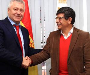 La firma rusa Rosneft busca invertir en el sector de hidrocarburos en Bolivia