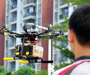 China desarrolla 'drones' para entregar paquetes a domicilio