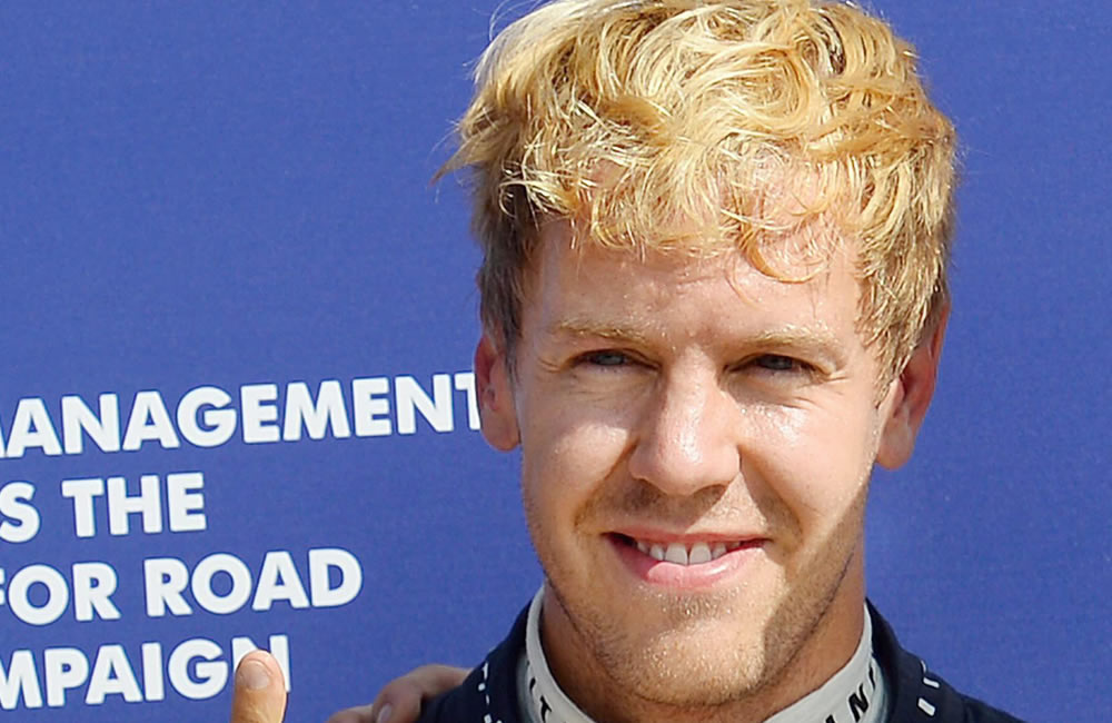 El piloto alemán Sebastián Vettel saldrá primero en el Gran Premio de Italia. EFE