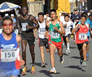 Calisaya y Toroya se imponen en la carrera pedestre de Cochabamba