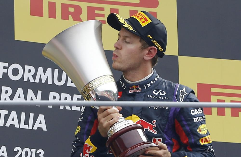 Vettel asesta el golpe psicológico al Mundial en Monza