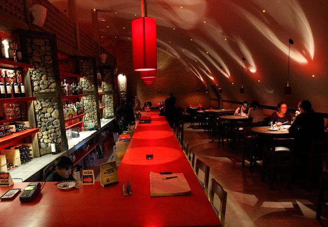 Vista general del restaurante Madame Ulupica. EFE