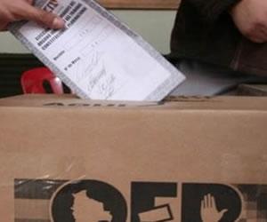 Hasta el próximo año se definirá fecha de elecciones generales 2014