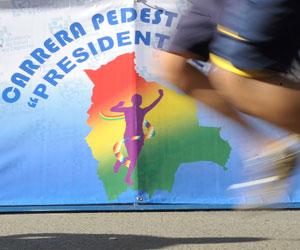 Toroya y Pereiyra ganan en carrera pedestre de Pando