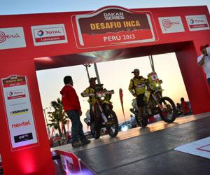 Brasileño Spinelli y chilenos Casale y Quintanilla ganan el Desafío Inca