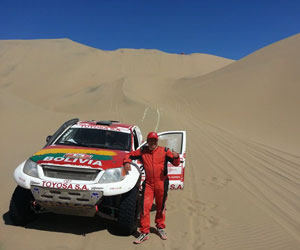 Bulacia gana el Dakar Series y Salvatierra termina cuarto