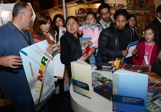 Inauguración Feria Internacional del Libro en La Paz